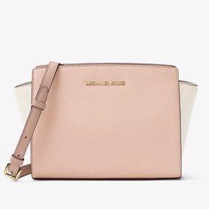 Michael Kors Selma color block bag